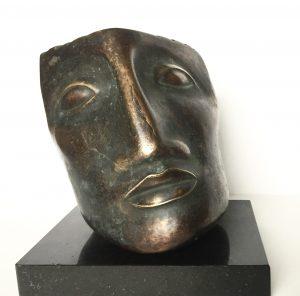 Francesca Zijlstra,'Huomo' 2006, brons, 9 x 15 cm h x b,