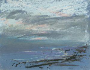Peter Möbus Skagen Danmark 2001 pastel 25 x 33 cm