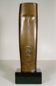 WILLEM LENSSINCK- YAMATO-2008-brons 48 x 12 cm hxb (1)