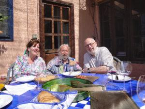 Willem en Catherine Lenssinck bij spaanse kunstenaar RipollèsDSC08987