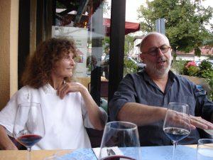 Zomer-atelierbezoek Gabriele Schitzenbaumer en Willem Lenssinck