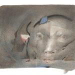 Octave Landuyt, 'Als Elke Nacht' (1996) pastel, 50 x 70 cm (hxb)
