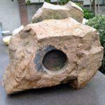 Lika Mutal - 'One Stone' (1992) granite, Cusco, Peru, 60 x 50 cm (hxb)