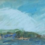 Peter Möbus, 'Strandgezicht Danmark' (1997) pastel, 15 x 24 cm (hxb)