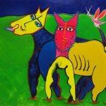 Juan Ripollès, 'Animalitos' (2005) acryl op linnen, 100 x 120 cm (hxb)