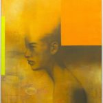 John van der Valk, 'Madonna 365' (2007) gemengde techniek, acryl op linnen, 80 x 90 cm (hxb)