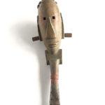 Gabriele Schnitzenbaumer, 'Der Pinsel-mann' (2005) keramiek, 33 cm (h)
