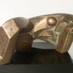 Francesca Zijlstra, 'Ruthra' (2001), brons, 13 x 26 cm (hxb)