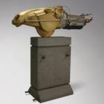 Willem Lenssinck, '1PK+Automatic' (2000), brons, 165 x 149 cm (hxb)