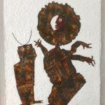 Juan Ripollès 'Bailarina con Tres Brazos, materie-ets, 100 x 135cm