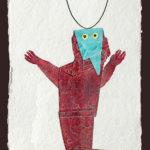 Juan Ripollès - 'Bruchito'l, materie-ets, 65 x 100cm