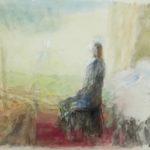 Vrouw in landschap (1987)
