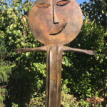 'Despedida', brons, 100 cm h