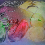 'Tumbada con Mariposa', 2002, olieverf op linnen, 73 x 92 cm