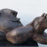 Tumbado, brons, 60 x 30 cm l x b ed. 3 / 8