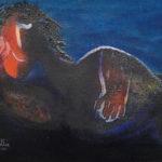 La Pensitiva, 1998, olieverf op linnen, 35 x 40 cm