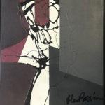 HEINRICH BROCKMEIER 'Tänz', olieverf op linnen, 60 x 50 cm hxb