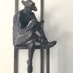 HEINRICH BROCKMEIER 'Joseph Beuys' brons 200 cm h
