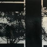 "KLAAS/BROCKMEIER ""Konglom"" (2018), Gemengde techniek op linnen, 140 x 200 cm hxb"