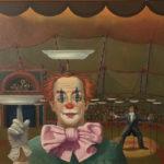 Piet Vermeulen, 'Bordennummer', 1978, olieverf op paneel, 75 x 85 cm hxb