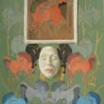 Piet Vermeulen, 'Wilma',1980, olieverf op linnen, 100 x 70 cm hxb