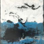 Uschi Klaas, Tempestad, olieverf op linnen, 80 x 100 cm