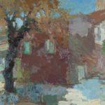 G.A. Morawetz, Impression de Roussillon, 1961, olieverf op paneel, 46 x 55 cm h x b