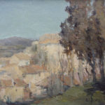 G.A. Morawetz, Le Chantéu - Provence, 1961, olieverf op paneel, 60 x 73 cm h x b