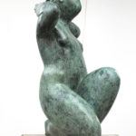 Jan de Graaf, Emma, brons, 65 x 30 x 30 cm h x b x d