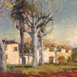 G.A. Morawetz 'Le Domaine St. Michel', 1960, olieverf op linnen, 60 x 81 cm h x b