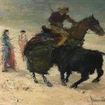 G.A. Morawetz 'Picador', 1959, olieverf op linnen, 73 x 92 cm h x b